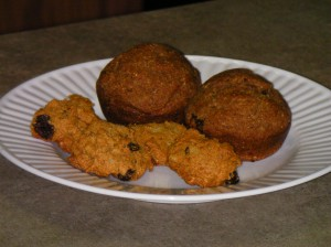 Persimmon Cookies and Muffins